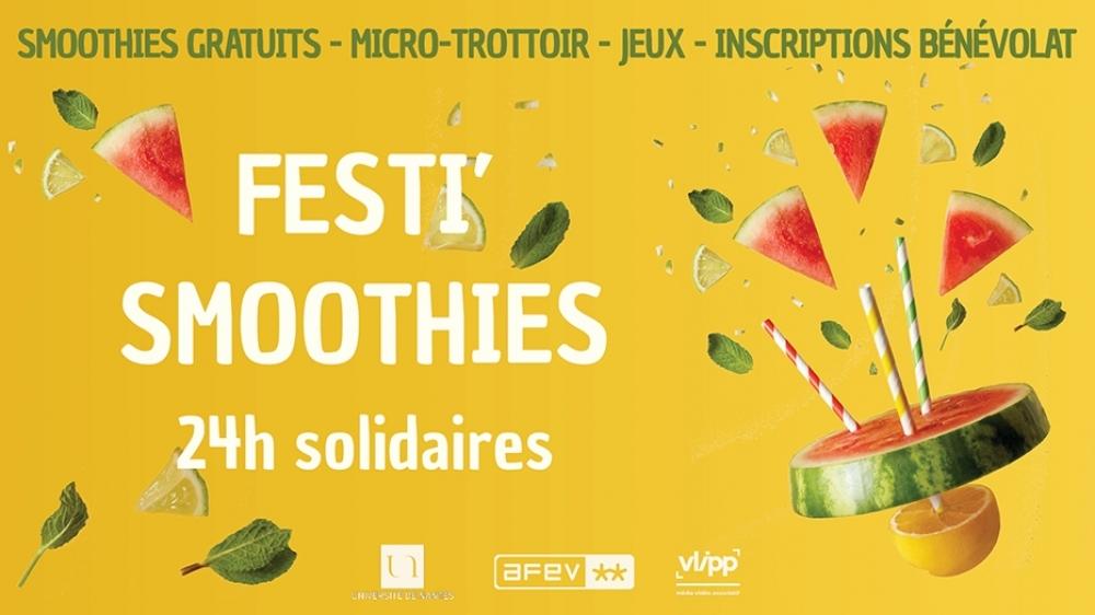 vlipp - Festi'smoothie 2021 : bénévolat & banana !