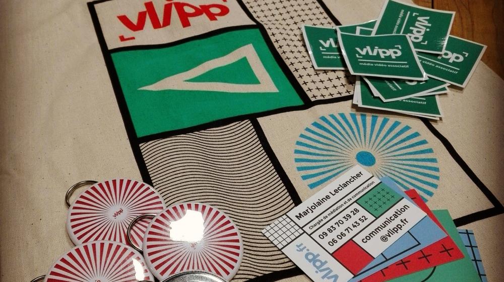 vlipp - Nouvelle identité graphique !