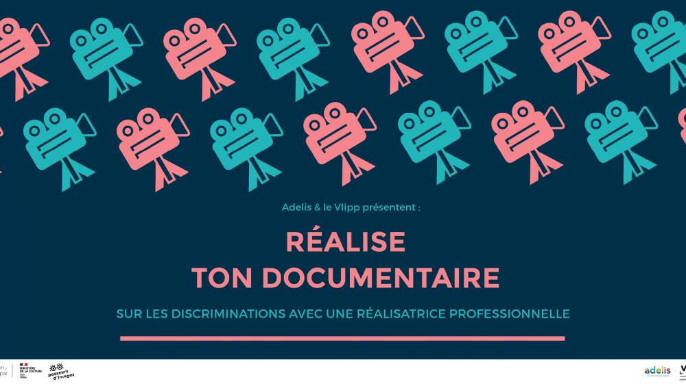 vlipp - Réalise ton documentaire sur les discriminations avec une réalisatrice professionnelle !
