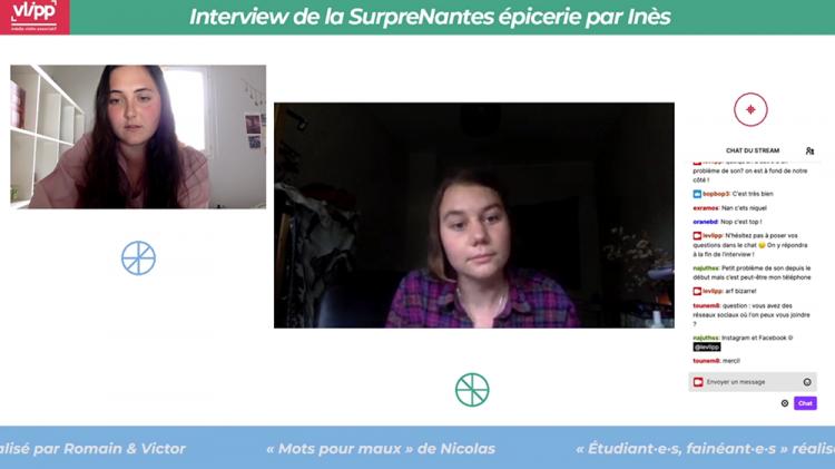 vlipp - Live Twitch #Précarité des jeunes